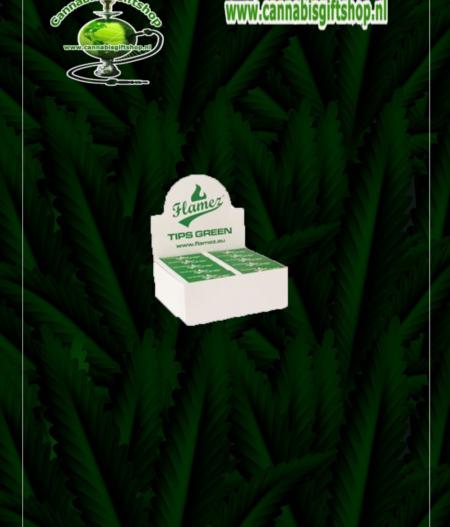 Flamez Filter Tip Booklet green