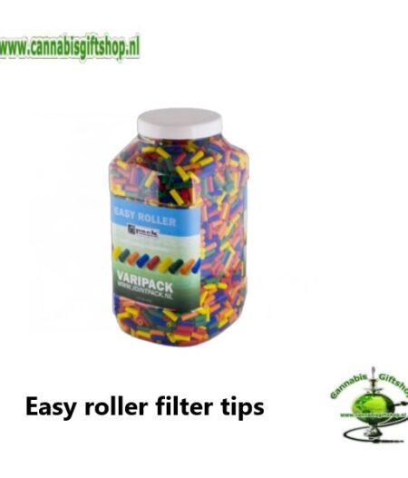 Easy roller filter tips