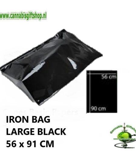 IRON BAG LARGE BLACK