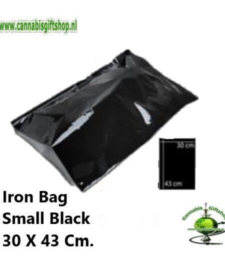 Iron Bag Small Black 30 X 43 Cm.