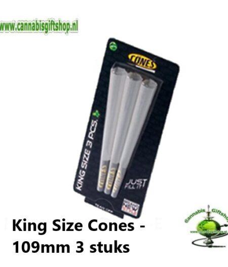 King Size Cones - 109mm 3 stuks