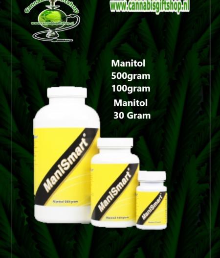 Manitol 30 100 500Gram