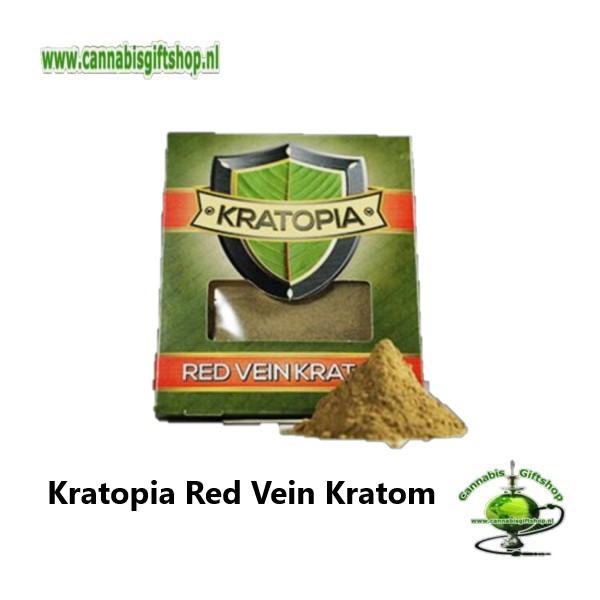 Kratopia Red Vein Kratom