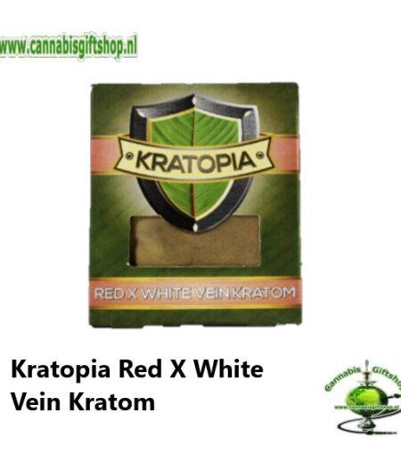 Kratopia Red X White Vein Kratom