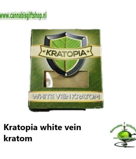 Kratopia white vein kratom