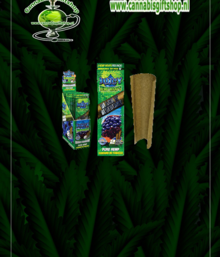 hemp wraps blueberry