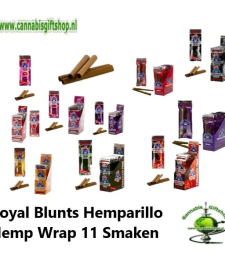 Hemparillo Royal Blunts Hemp Wrap 11 Smaken