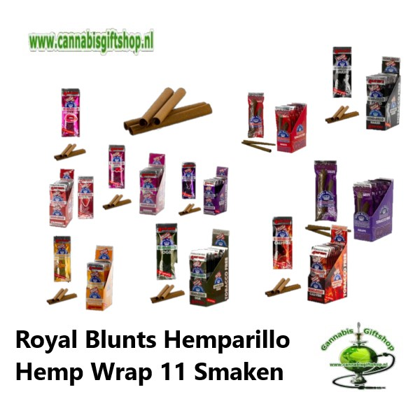 Hemparillo Royal Blunts Hemp Wrap 11 Smaken