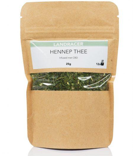 De Landracer Hennep thee infused met Cannabidiol.