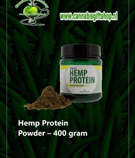 Hemp Protein Powder – 400 gram
