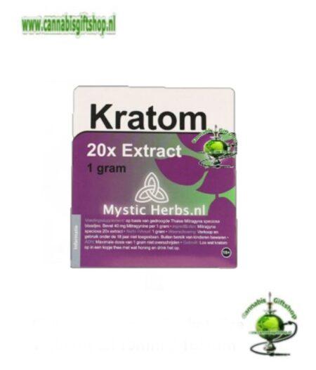 Kratom 20X Extract