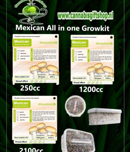 Mexican All in one Growkit front