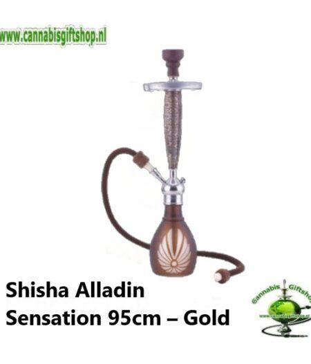 Shisha Alladin Sensation 95cm – Gold