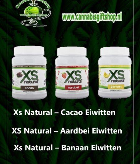 XS Natural – Aardbei Cacao Banaan Eiwitten