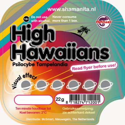High Hawaiians 22 Gram