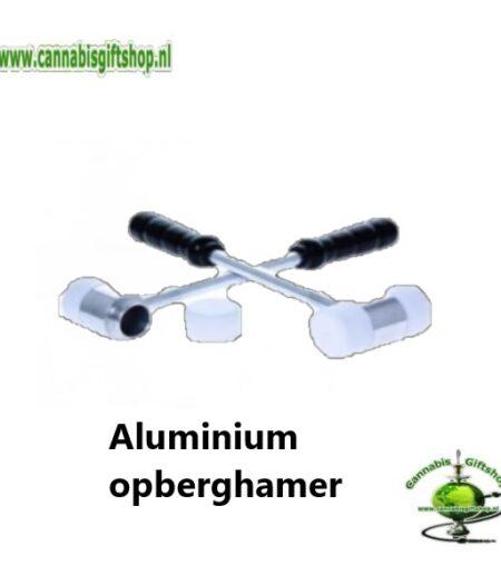 Aluminium opberghamer