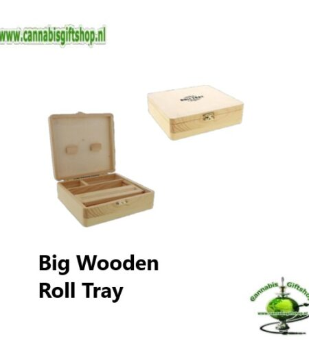 Big Wooden Roll Tray