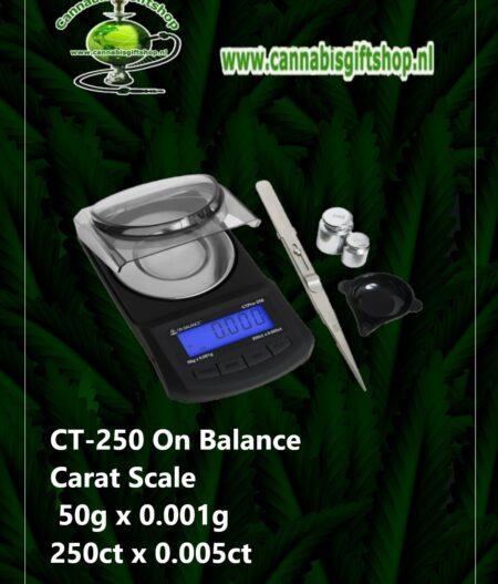 CT-250 On Balance Carat Scale 50g x 0.001g 250ct x 0.005ct