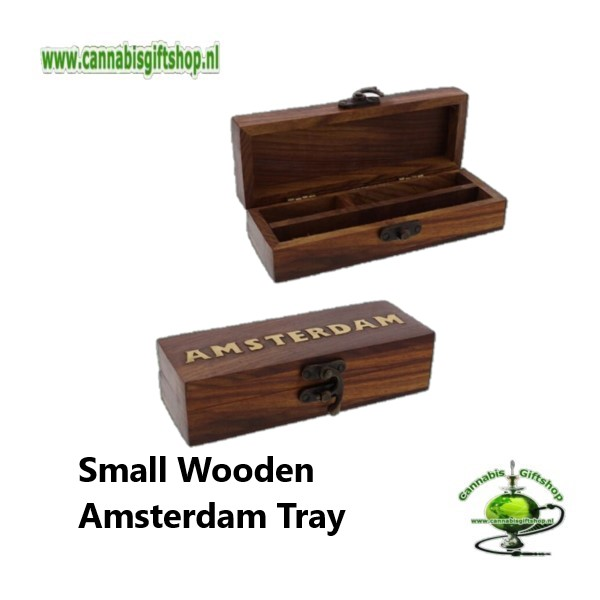 Small Wooden Amsterdam Tray