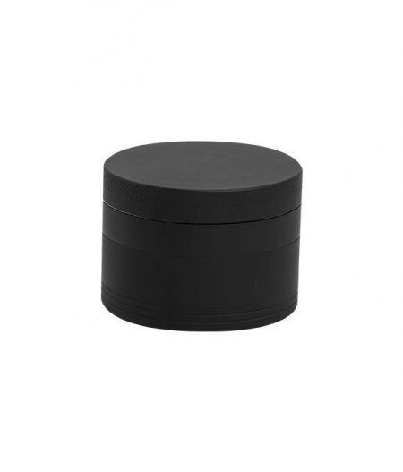 Grinder Aluminium (Ø 55 mm, 4 Parts), Matt Black