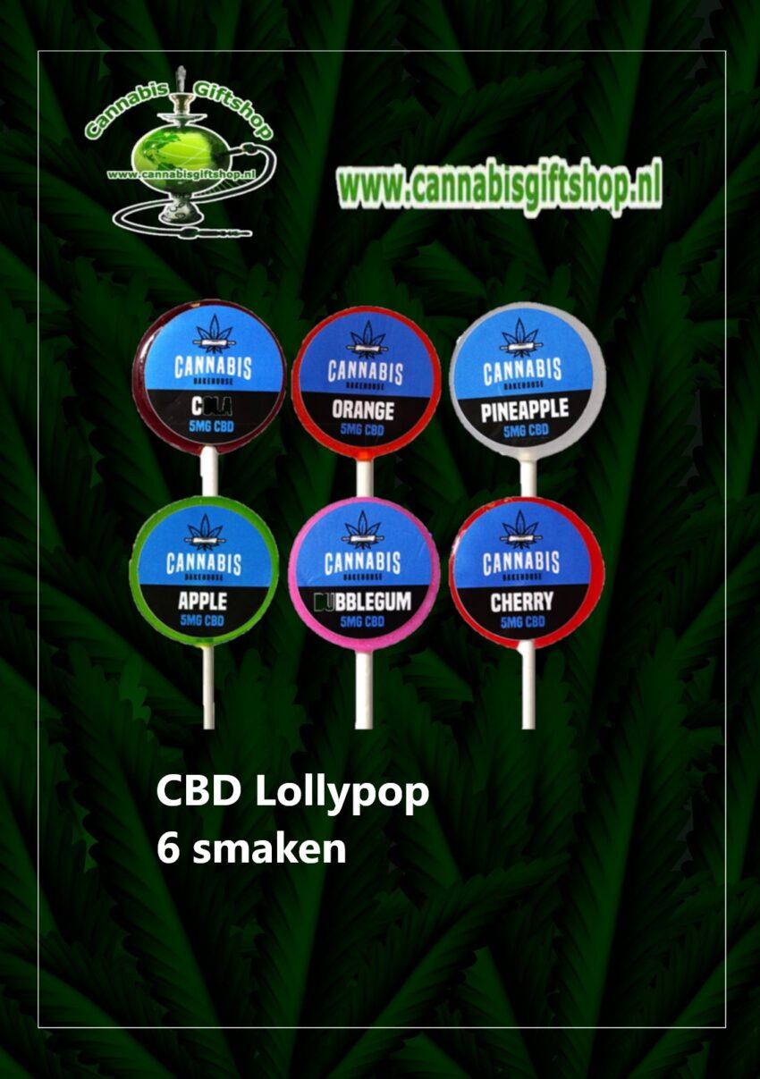 CBD Lollypop 6 smaken