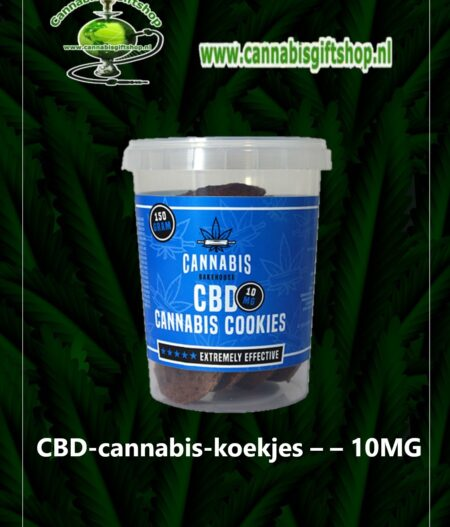 CBD-cannabis-koekjes – – 10MG