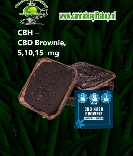 CBH – CBD Brownie, 5,10,15 mg