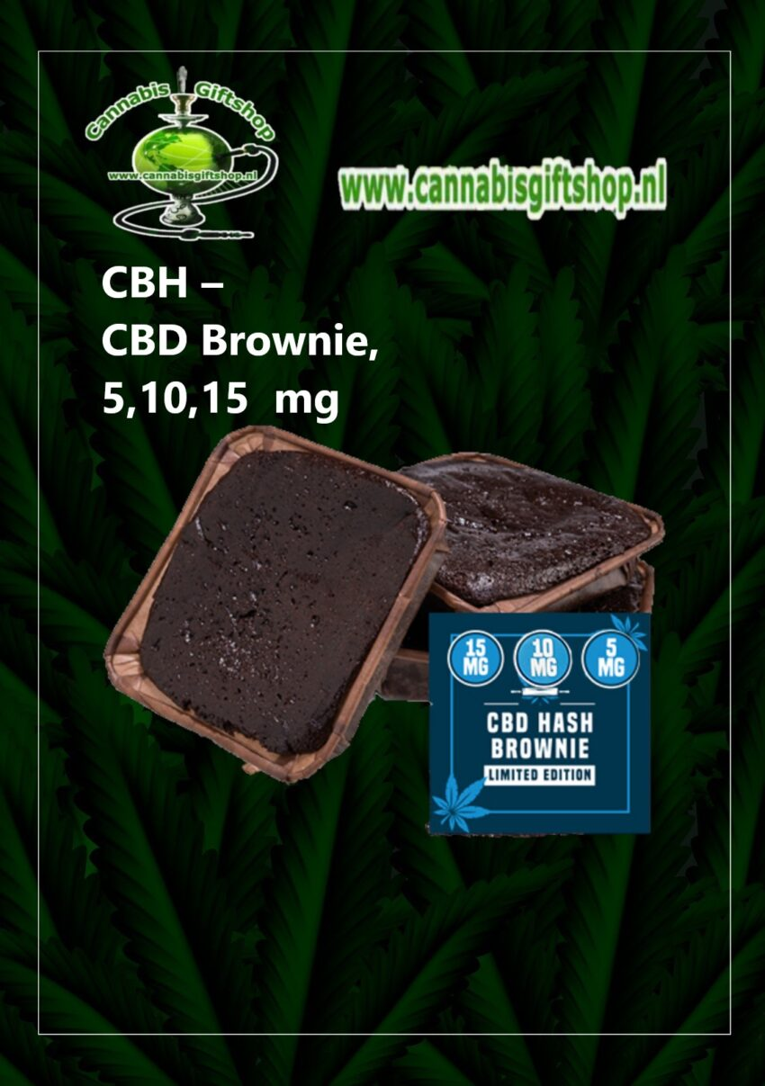 CBH – CBD Brownie, 5,10,15 mg