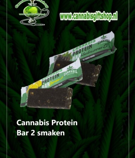 Cannabis Protein Bar 2 smaken
