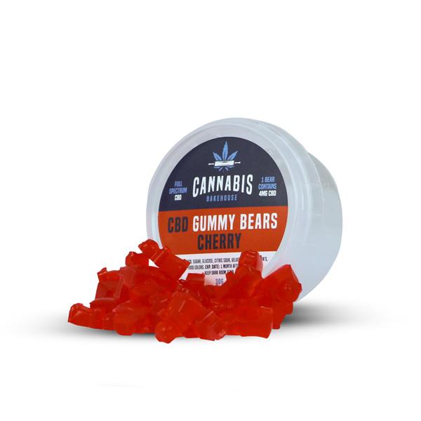 CBH - Gummybears Cherry, 30 gram