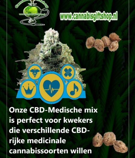 Cannabis giftshop Medische mix