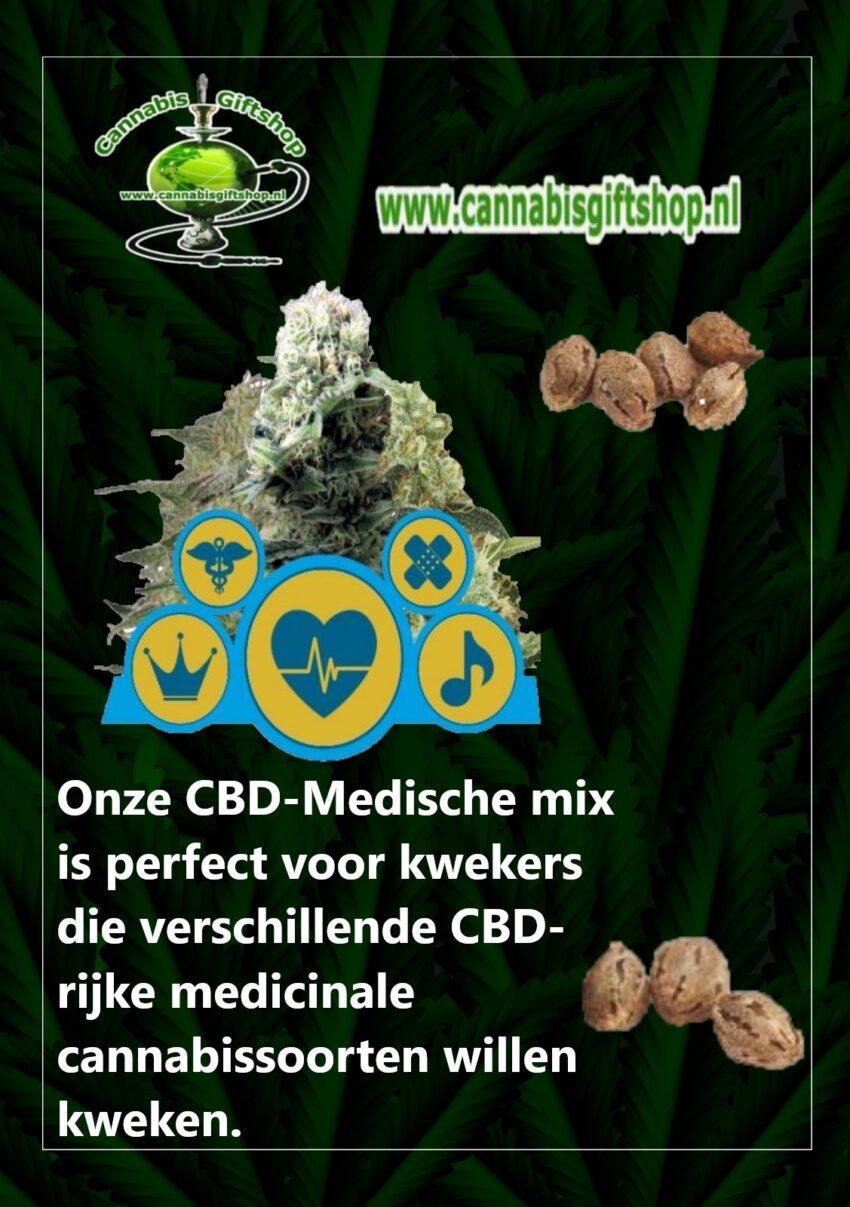 Cannabis giftshop Medische mix