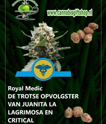 Cannabis giftshop Royal Medic