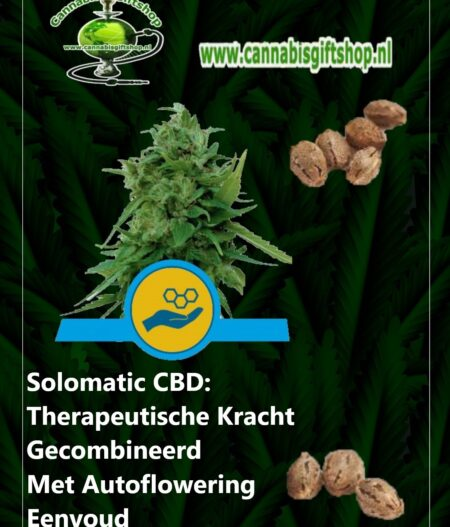 Cannabis giftshop Solomatic CBD
