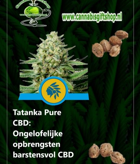 Cannabis giftshop Tatanka Pure CBD