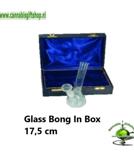 Glass Bong In Box 17,5 cm