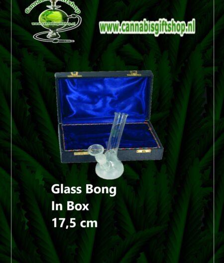 Glass Bong In Box 17,5 cm