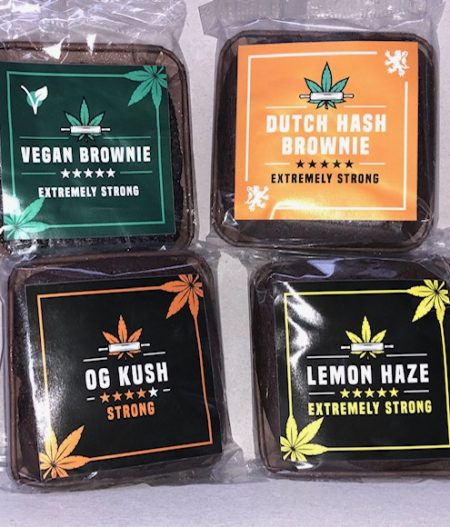 CBH – Dutch Hash og kush lemon white widow vegan Brownie