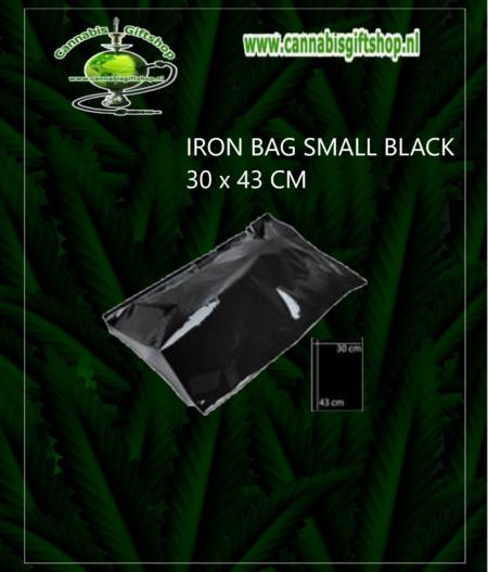 IRON BAG SMALL BLACK 30 x 43 CM 1 pcs