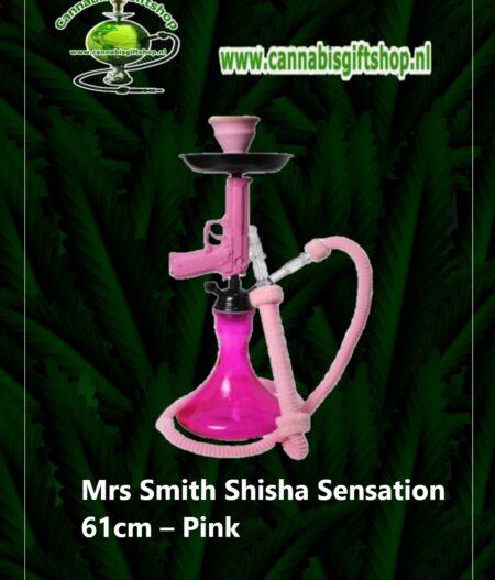 Mrs Smith Shisha Sensation 61cm – Pink