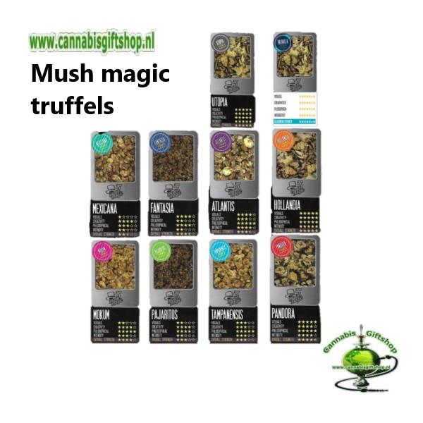 Mush magic truffels