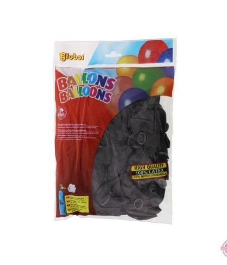 Ballonnen Oranje & Zwart 100 Stuks