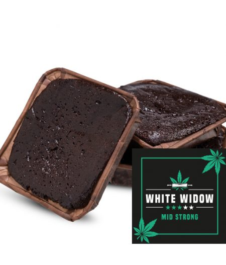 White Widow Brownie
