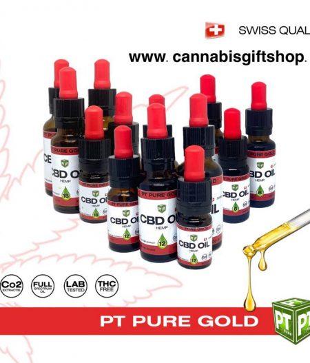 PT PURE GOLD - CBD Olie