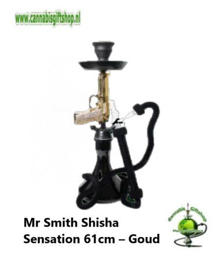 Mr Smith Shisha Sensation 61cm – Goud