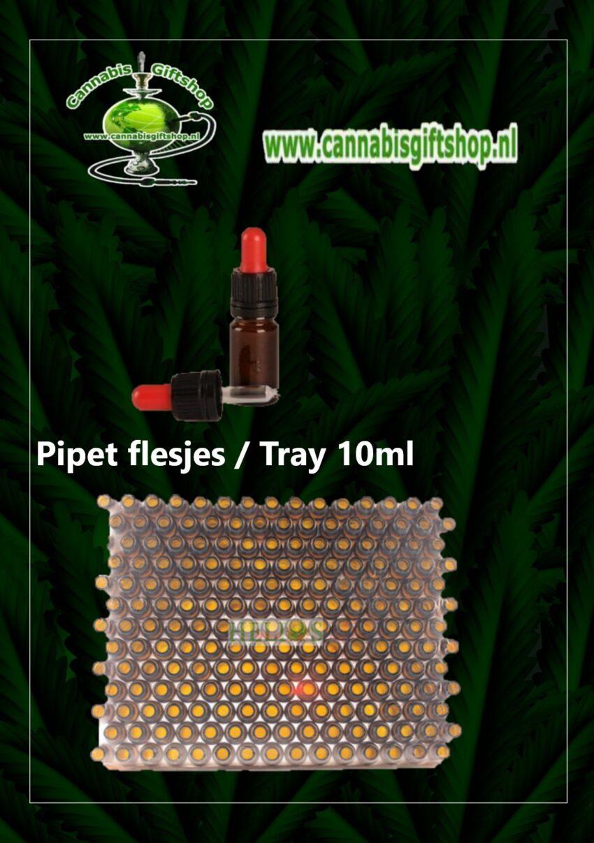 Pipet flesjes Tray 10ml