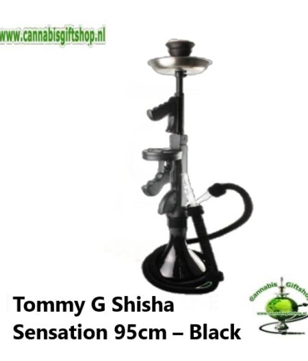 Tommy G Shisha Sensation 95cm – Black