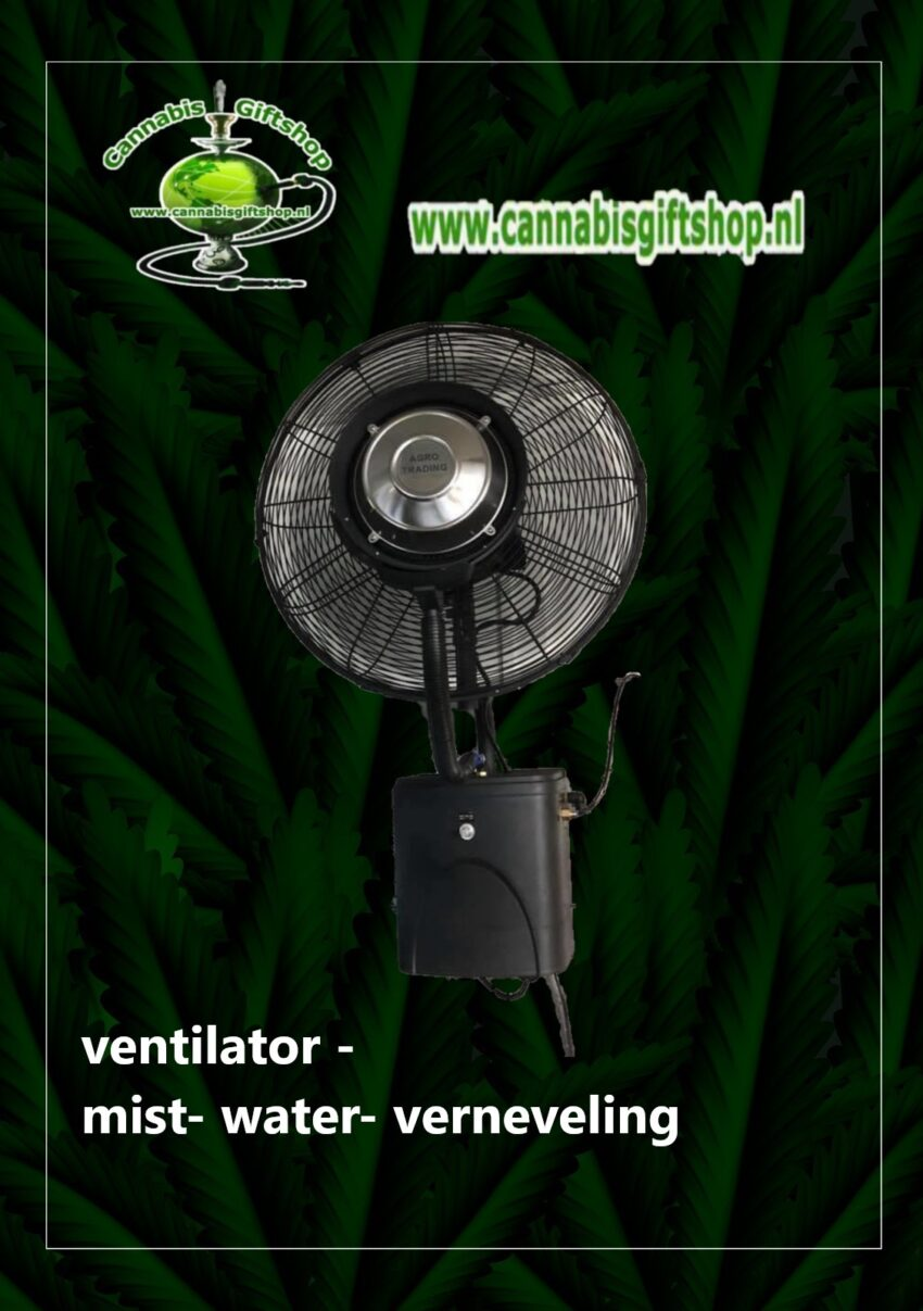 Wand ventilator -mist- water- verneveling