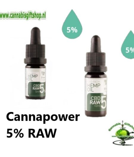 Cannapower 5% RAW