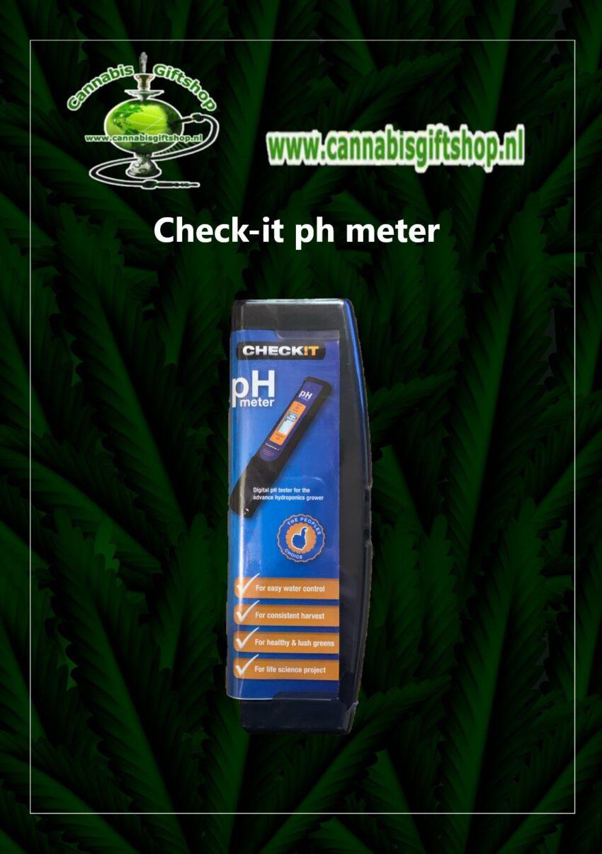 Check-it ph meter